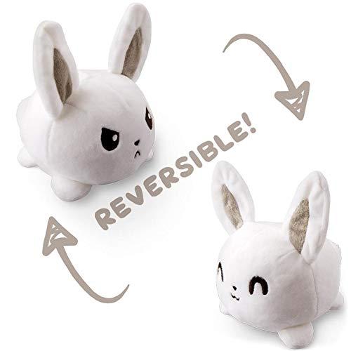 TeeTurtle Reversible Bunny Mini White product image