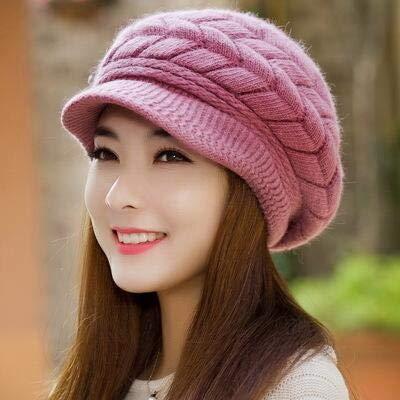 6e9cb0208 FUMAK Knitted Hat Women Winter Hats for Women Ladies Beanie Girls Skullies  CAPS Bonnet Femme Snapback