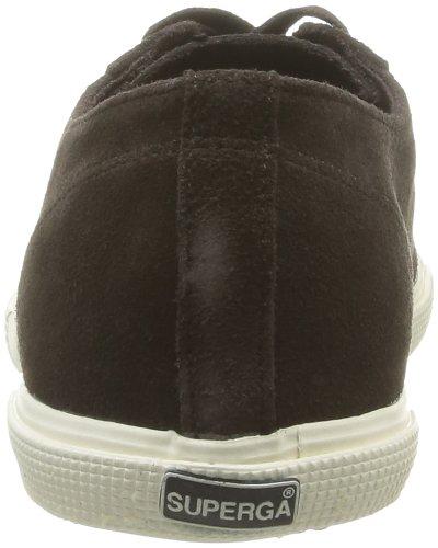 Superga 2950 Sueu - Zapatillas de Deporte de tela hombre marrón - Marron (Dark Chocolate)