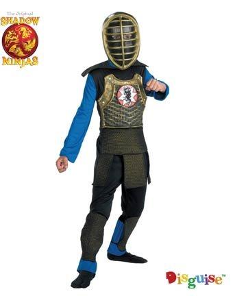 Amazon.com: Shadow Ninja Emperor Ninja Child Costume 7-8 ...