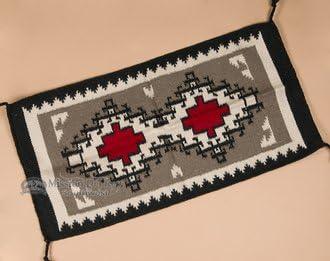 Rustic Western Wool Area Rug 20″x40″ 40325