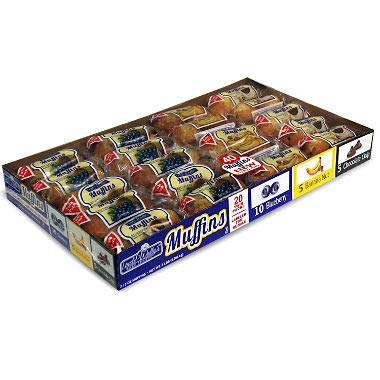 Uncle Wallys Muffins Variety Pack 20 twin pks. (paquete de ...