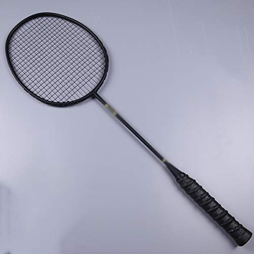 (Badminton Racket 2 Ultra Light Professional Full Carbon Adult Offensive Double Shot Badminton 4U Carbon Fiber Competition Badminton Racket)