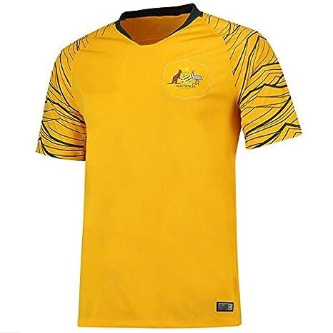 2018 Australian Team Football Match Jersey Football Fan Style-L Sproud