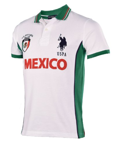 U.S. Polo Assn. Team Mexico Men's Slim Fit Polo Shirt