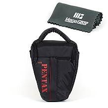 MegaGear ''Ultra Light'' Camera Case Bag for Pentax cameras with lens Pentax KP, K-70, Pentax K-50, Pentax K-3, Pentax K-500, Pentax K-5, Pentax K-30, Pentax K-S1, Pentax K-S2