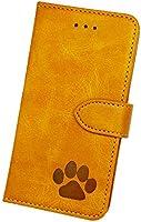 [Amigo Doggos(アミーゴドッゴス)] iPhone ケース 日本製 肉球 スムースレザー カードポケット スタンド機能 スマホケース 手帳型ケース 全面保護 衝撃吸収 保護カバー