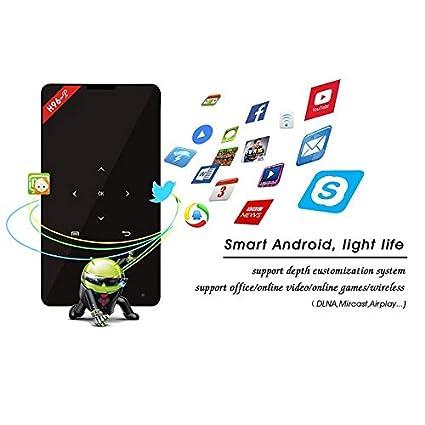 Amazon.com: 1GB + 8GB 4K HD Proyector 1080P Bluetooth WiFi ...