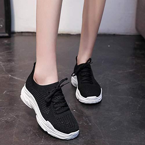Winter Casual Women Autumn Fashion Outdoor Student Shoes Girls Walking Black Shoes Shoes Shoes Teen FALAIDUO Sports 5xgX0qndw5