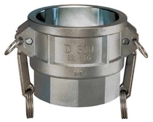 Kuriyama SS-D050 ST-Steel Part D Coupler 250 PSI 1//2