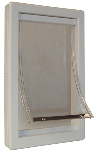 Ideal Pet Products Original Pet Door with Telescoping Frame, Medium, 7'' x 11.25'' Flap Size by Ideal Pet Products