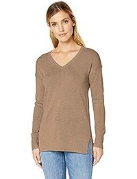Women's Lightweight V-Neck Tunic Sweater
