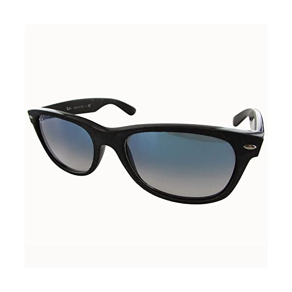 Ray-Ban-Mens-New-Wayfarer-Square-Sunglasses-BlackTop-Black-Alcantar-55-Mm