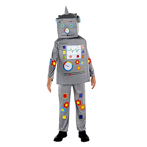 Dress Up America Robot Costume For Kids Disfraces, Multi Color ...