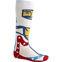 Burton Party Socks Mens Unisex Ski Snowboard New 2015 (Evil K, M)