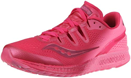 Saucony Women's Freedom ISO Running Shoe Berry/Pink