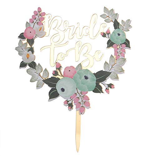 Betalala Acrylic Bride to Be Cake Topper-Bridal Shower,Wedding,Bachelorette Party Decoration