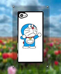 Sony Z5 Compact Funda Case - Doraemon Cartoon Anti Dust Fantastic + Glam Drop Protection High Impact Hard Back Funda Case For Sony Xperia Z5 Compact [Just fit for Z5 Compact]