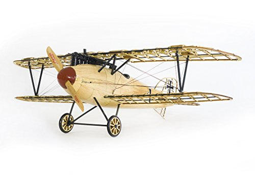 Wooden Models Bi-Plane Albatross D.III Aircraft Construction Kits, Laser Cut Balsa Wood Model Airplane Kits to Build for Adults, Perfect Handcrafted 3D Wooden Puzzles Jigsaw for Home Decor/ Collection ()