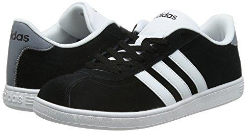 Ftwbla Hommes Gris Vlcourt Baskets Noir negbas Pour Adidas qFUYwt