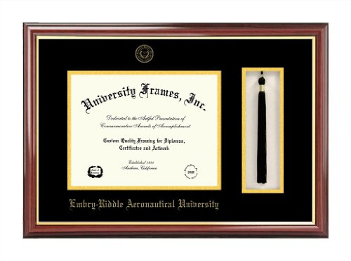Embry-Riddle University Tassel Box and Diploma Frame (Embry Riddle Diploma Frame compare prices)