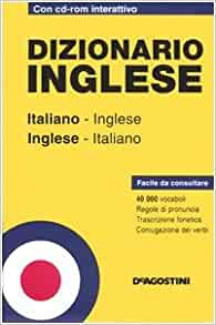 Dizionario inglese. Italiano-inglese, inglese-italiano ...