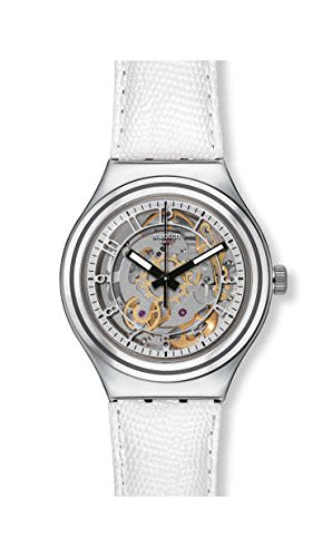 [スウォッチ]Swatch I Automatic Skeleton(アイロニーオートマチック)UNCLE CHARLY LEATHER (アンクル・チャーリー・レザー) メンズ YAS112C YAS112C メンズ