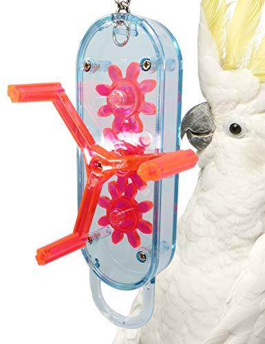 (Lucky Bird Toys Gear Head 18in Length Large Bird Toy)