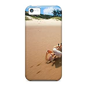 New Arrival Case Cover With Design For Iphone 5c- Crab Walk