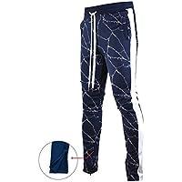 Screenshotbrand Mens Hip Hop Premium Slim Fit Track Pants...