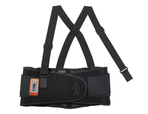 ProFlex Large Standard Back Support in Black