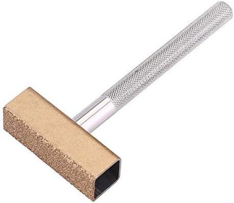 TOPINCN ハンドヘルド T型 ダイヤモンド研削 ドレッシング トリマー ベンチ 研削盤研削砥石 表面ドレッシングツール 長方形チップ