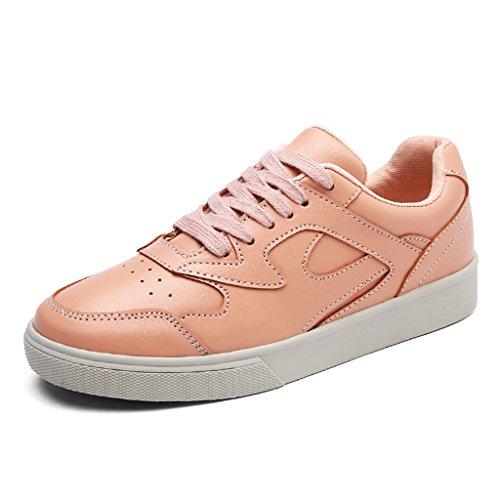 Skateboard einzelne Retro Schuhe Damenschuhe zufällige Platten Frau flache Schuhe 39 Sport größe Schwarz Schüler HWF Farbe Frühlings Schuhe nw0O0XP7q