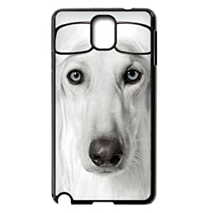 Samsung Galaxy Note 3 Case Dog Wearing Glasses, Cheap Cute Dog & Cute Naza, {Black}