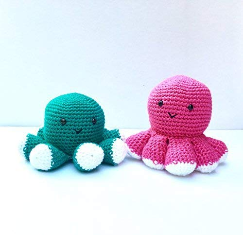 Ernest the Amigurumi Octopus | PDF Crochet Pattern – AiraliDesign | 483x500