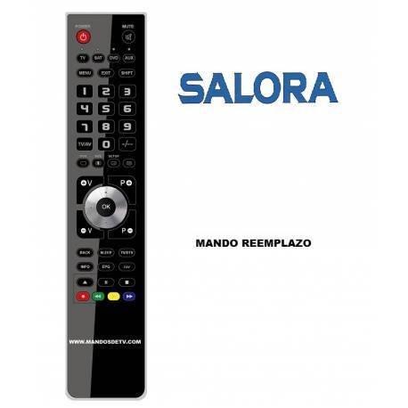 salora telecomando  Telecomando SALORA 24 K7 TV: : Elettronica