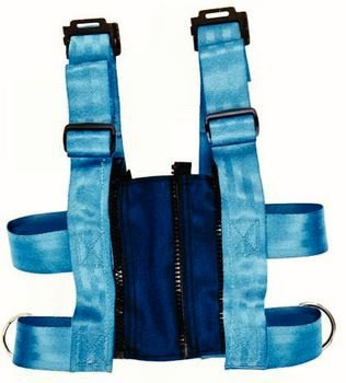 E-Z-On Adjustable Vest Size: S Waist Size 25''-29'' (Vest must be used with 399405 or 399410)