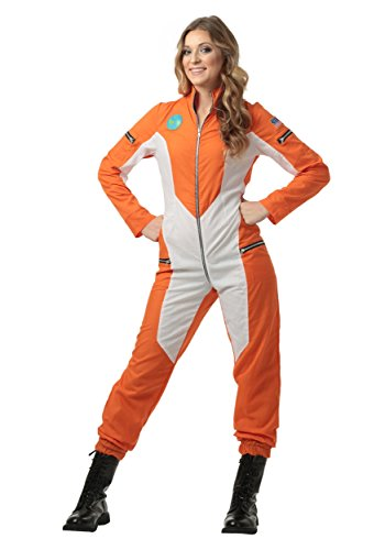 Orange Jumpsuit Women Costume (Women's Astronaut Jumpsuit Medium)