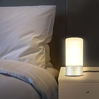 Luwatt table lamp touch sensor bedside lamp dimmable warm white luwatt table lamp touch sensor bedside lamp dimmable warm white light color changing rgb modern aloadofball Images