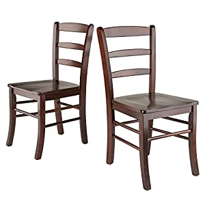 Winsome Wood Benjamin Seating, Walnut