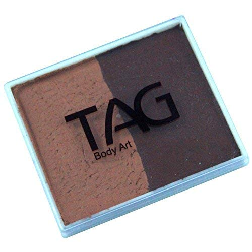 (TAG 2 Color Split Cake - Mid Brown and Brown (50 gm))