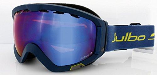 Messieurs de ski et snowboarb rainure Polar Full Black/Polarized bleu nuit