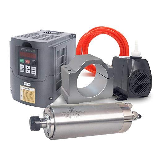 VFD CNC Spindle Motor Kits:110V 2.2KW VFD+110V