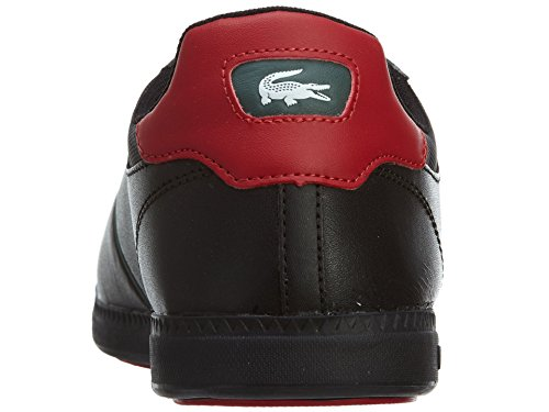 Henry Ferrera Donna Lifestyle 800 Fashion Slip-on Sneaker, Nero, 10 Nero / Rosso