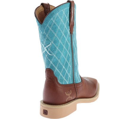 Boys Cognac HOOey Girls Logo 5 Cowkids Western Boots YHY0006 Child 2 zqqx7UE