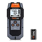 #LightningDeal TACKLIFE Stud Finder Upgraded Wall Scanner, 4 in 1 Center Finding Electronic Wall Detector Finders with Warning, Four Scan Modes for Wood Stud/Metal/Live AC Wire/Deep Detecting - New Version DMS03