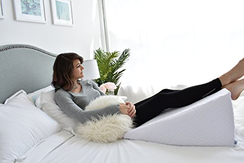 Pharmedoc Acid Reflux Bed Wedge Pillow W Washable Case