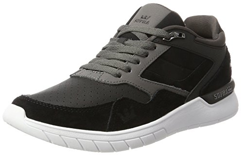 Schwarz Supra white Homme Winslow Charcoal Black Baskets q8r8Rpvwt