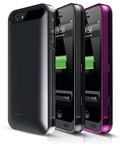 Amazon com: Apple approved Mfi Iphone 5/5s Power Pack Case