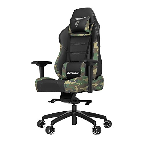 VERTAGEAR PL6000_cm P-Line 6000 Racing Series Gaming Chair X-Large Black/Camouflage